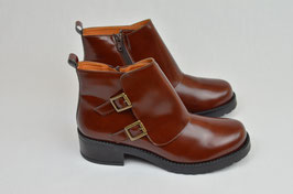 "Stiefelette ""Tessa brown""  (vegan)"