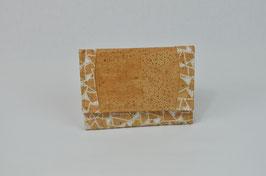 "Portemonnaie aus Kork ""Mosaik"""