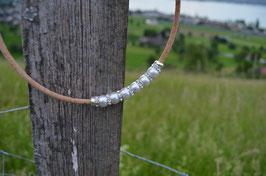 """Halskette aus Kork """"Perlen"""""""