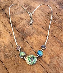 Halskette mit Südsee-Perlmutt