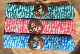 Dreier-Set: gleiche Designs alle mit Tupfer in türkis