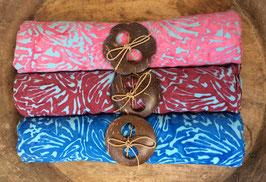 Dreier-Set: gleiche Designs- verschiedene Grundfarben - alle mit türkis
