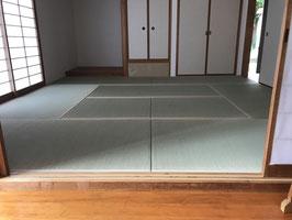 熊本産 糸引 五八サイズ 畳新調縁(へり)付き (国産 天然い草)
