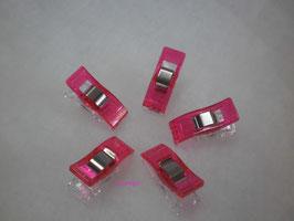Klammer klein pink