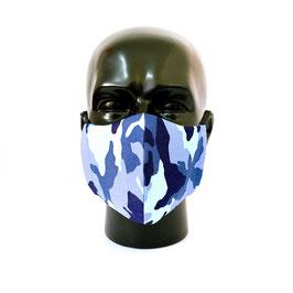 Camouflage Blau