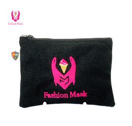 Fashion Mask Strawberry Soft Ice Cream Mini-Case