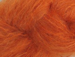 50 g Puppenmohair Garn pflanzengefärbt