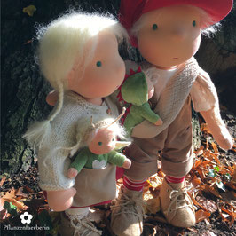 35, 40 oder 45 cm Puppenkind*14, 16 or 20 inch. doll child