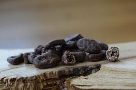 Schokolierte Roh-Kakaobohne mit Fruchtfleisch - limmitierte Menge