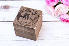 Ringschatulle Hochzeit Ring Box Wedding tree Box