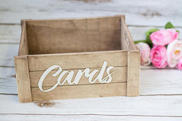 Card Box Rustic Mail Box Wedding Cards