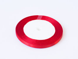 Satinband Rot 6mm