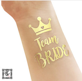 JGA Team Bride Tattoo