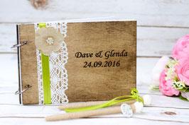 Hochzeit Gästebuch A5 Personaliziert