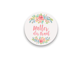 Mutter der Braut  Button 59mm
