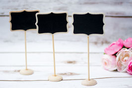 Standing Chalkboard Table Number Stand Chalkboard Bracket Border
