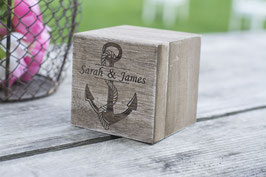 Beach Wedding Box  square