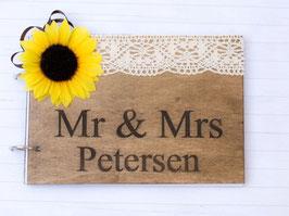 Mr Mrs Sonnenblume Gästebuch