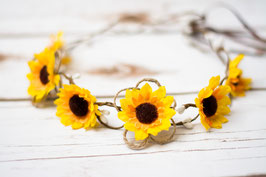 Blumenkranz gelb Sonnenblumen