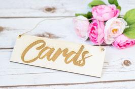 Hochzeit Karten Banner Girlande Schild Hochzeit