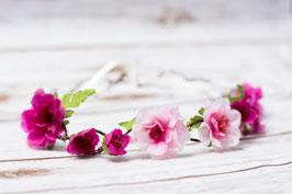 Haarband Blumen Boho Haarschmuck Hochzeit