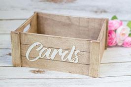 Card Box Karten Box