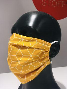 Mund-Nasen-Maske für Kinder, gemustert, mit Ohrengummis