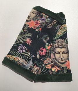 "Stulpen ""Buddha"" grün-grün"