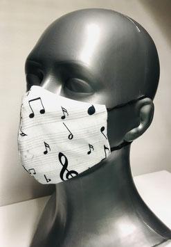 Mund-Nasen-Maske für Erwachsene aus Baumwolle & TENCEL