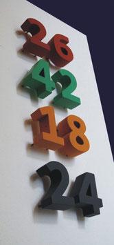 Hausnummer Consolas 10 cm