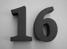 Hausnummer Gentium bold (21 cm Höhe)