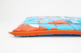 Blue and Orange Laptop Case