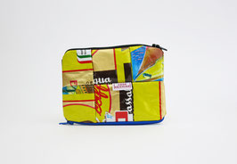 Yellow Wallet Double Sided