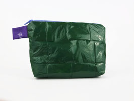 Small, Green Cosmetic Bag