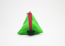 Green Triangle Bag