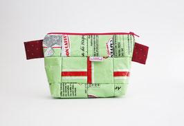 Mint Green Cosmetic Bag