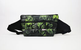Black and Green Hip Bag