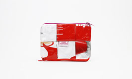 Silver and Red Magic Wallet