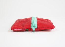 Red Zipper Pouch