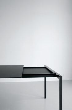 Ausziehbarer Tisch SINTESI schwarz