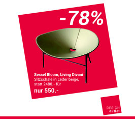 Sessel Bloom von Living Divani