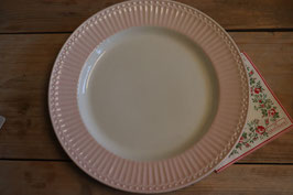 GreenGate Dinner plate Alice pale pink