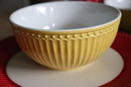 GreenGate Cereal bowl Alice honey mustard