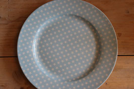 "Krasilnikoff Dinner Plate ""Stars"""