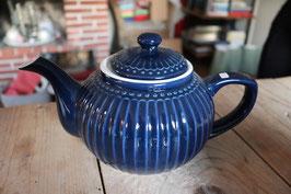 GreenGate Teapot Alice dark blue