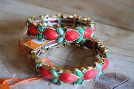 The moshi Armband Türkis/ Rot