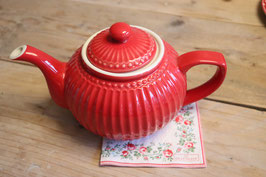 GreenGate Teapot Alice pale red