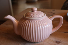 Greengate Teapot Alice pale pink