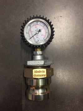 Manomètre de controle de pression jaquette (60 bar)