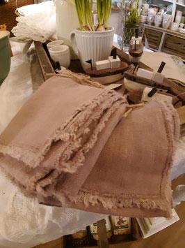 Tischläufer stonewashed Bohostyle